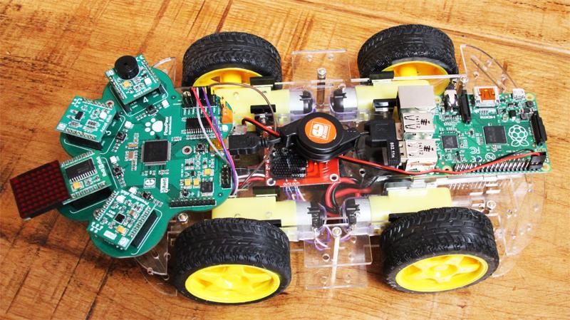 FlowPaw Raspberry Pi Rover LR