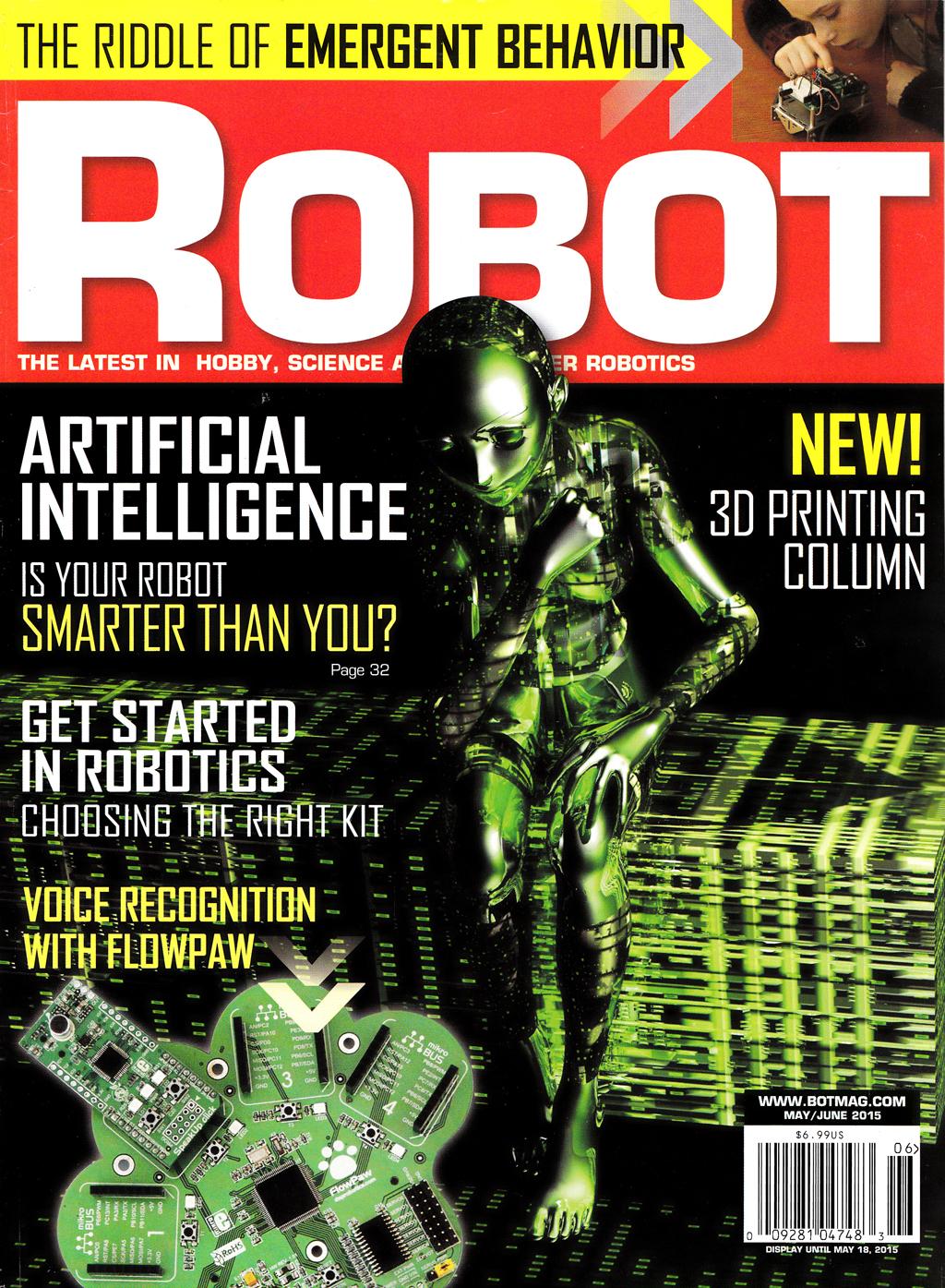 Robot Mag FlowPaw1 LR